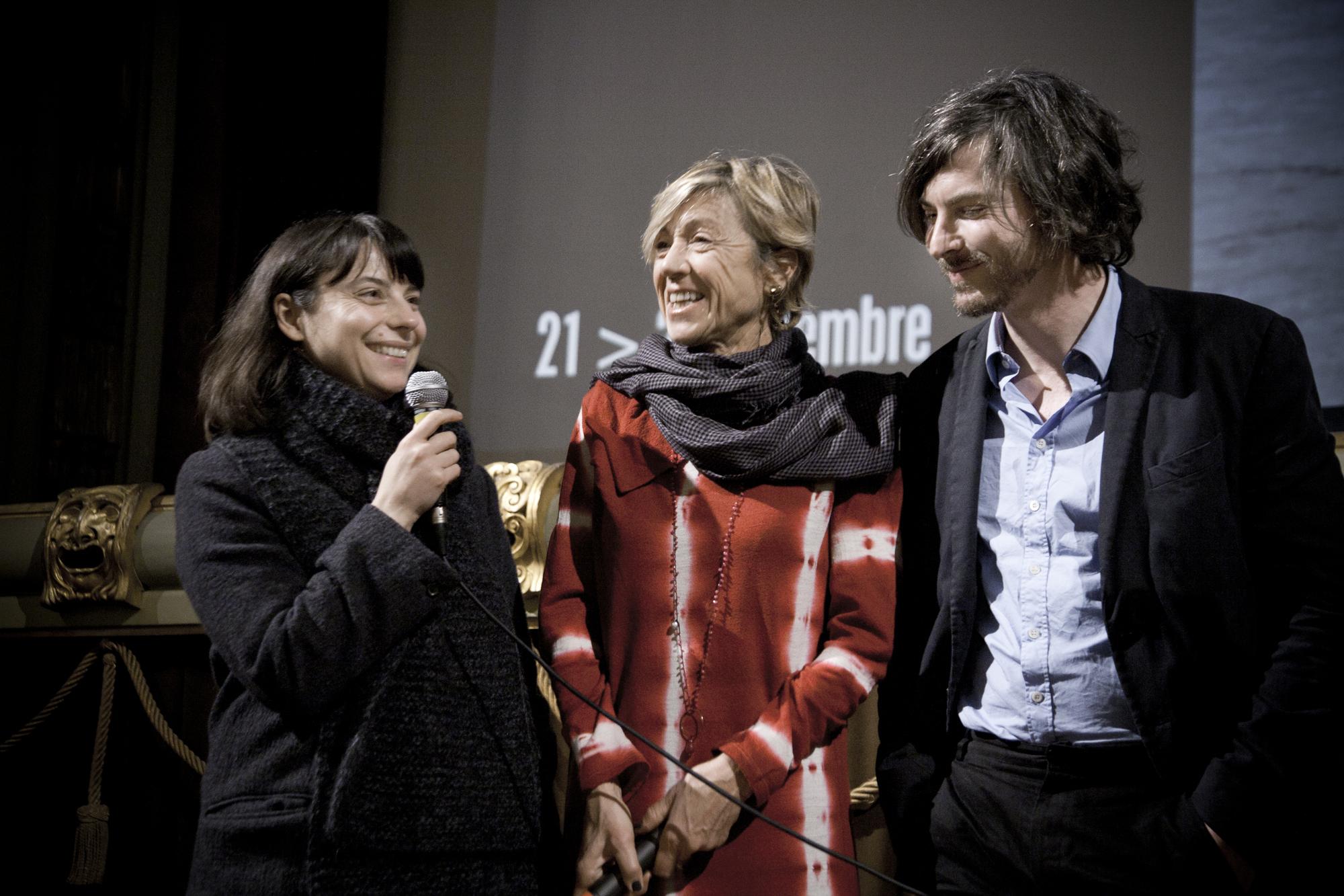 Anna-Teixeira-Pinto-e-Jan-Peter-Hammer-Lo-schermo-dellarte-Film-Festival-2012